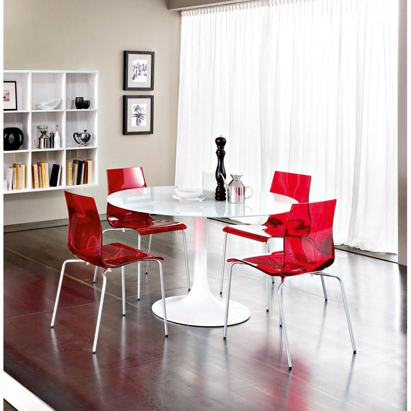 Corona Round Table Contemporary Kitchen Tables Round Dining Table Modern Dining Room Sets