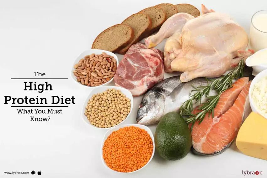 a high protein diet provides 50g of