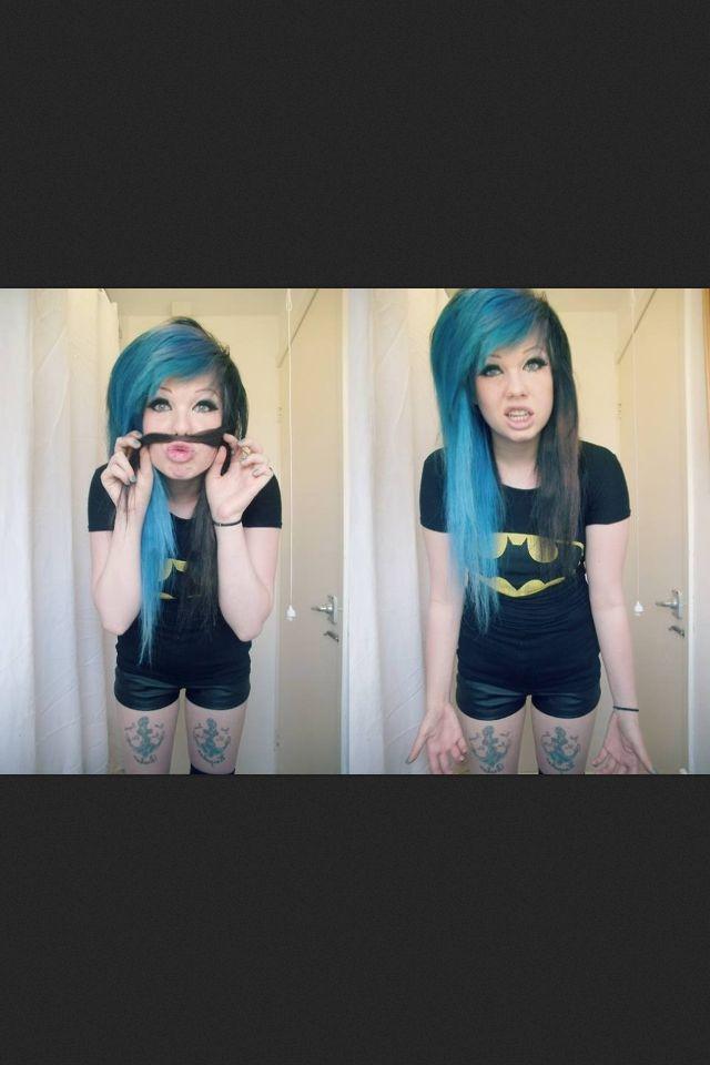 had to pin this cuz she's wearing a batman shirt :) <333