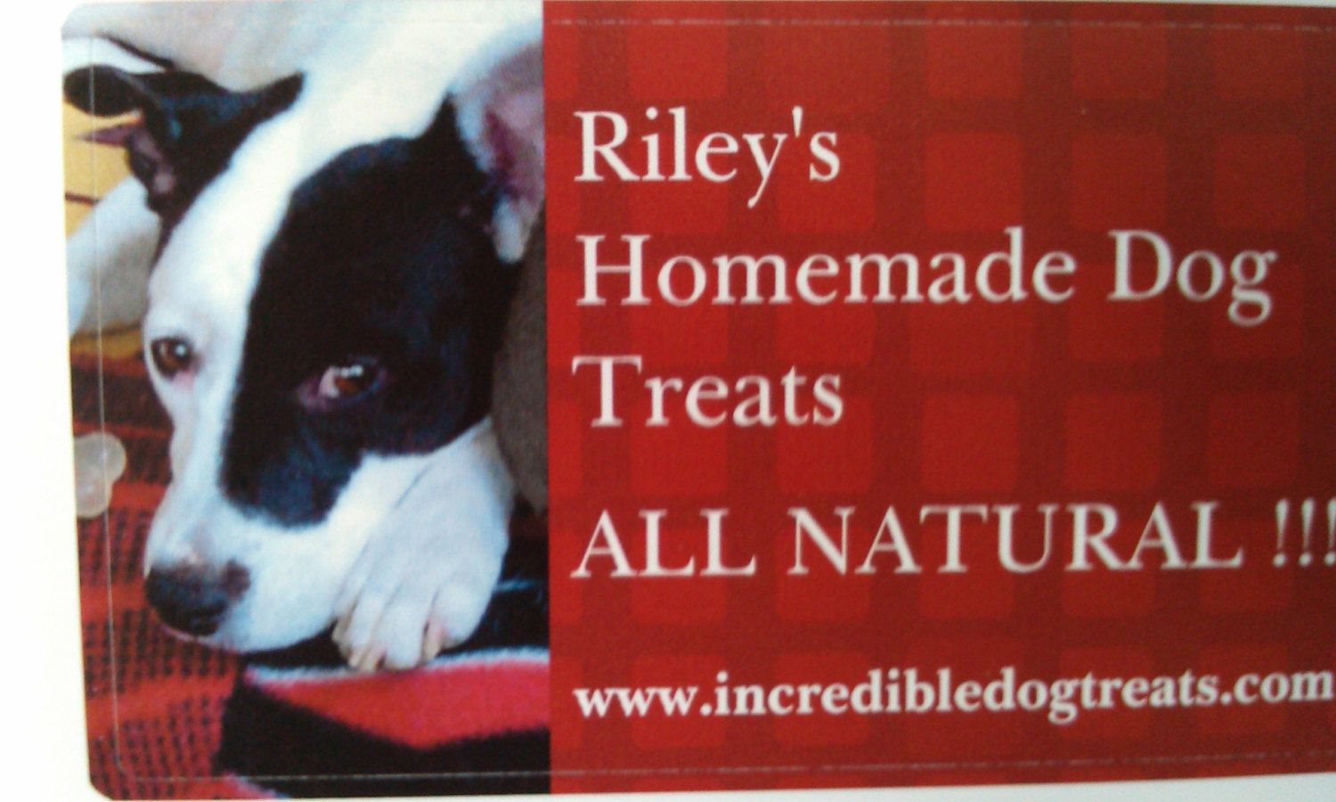 Riley's Homemade Dog Treats  100 all by incredibledogtreats, $6.00