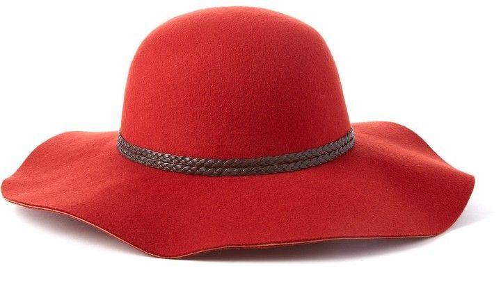 2d14a01c Scala Braided Trim Ultrafelt Floppy Hat | Pinterest | Floppy hats ...