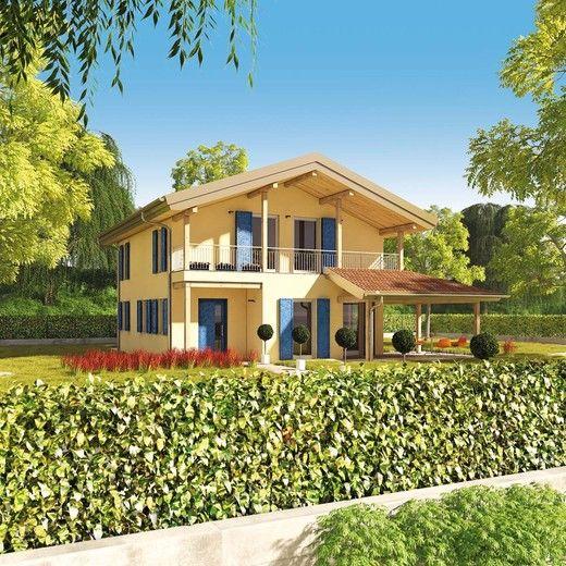 Wolf haus case prefabbricate aspect 174 progetti case for Progetti di cottage sulla spiaggia e planimetrie