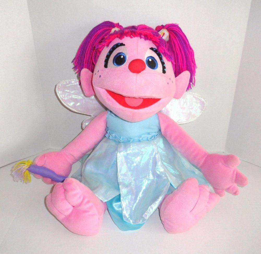 Abby Cadabby Plush Doll Big Large 26 Sesame Street Fairy