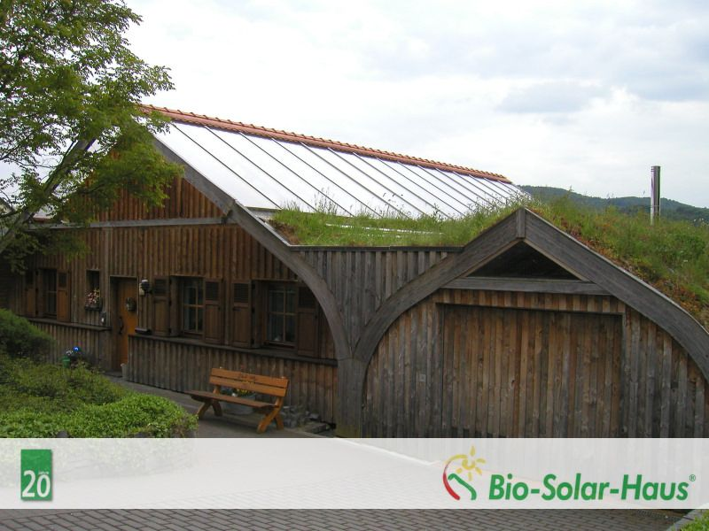 selbstbauhaus bio solar haus als ist fertiggestellt holz