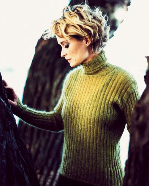 Lena Endre Short Hair Styles Great Hair Swedish Actresses