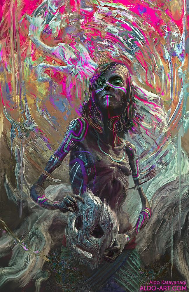 L'univers bizarre du digital painter Aldo Katayanagi