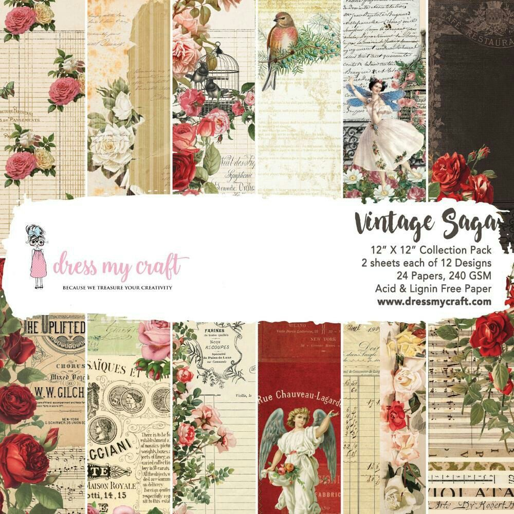 Penny Black 6 x 6 Designer Paper Pad Painted Blooms 48 sheets The Rubber Buggy