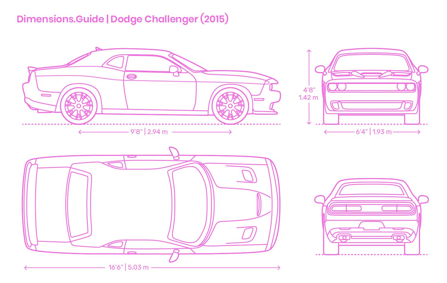 The Dodge Challenger 2015 Has A Body Style That Resembles A