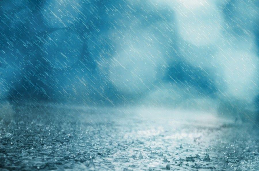 lluvia, calle, exterior, agua, gotas, llover, nadie, lluvioso,