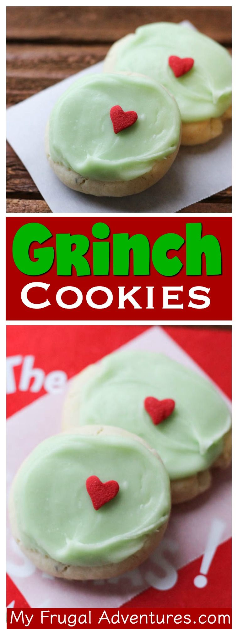 Grinch Christmas Cookies - My Frugal Adventures