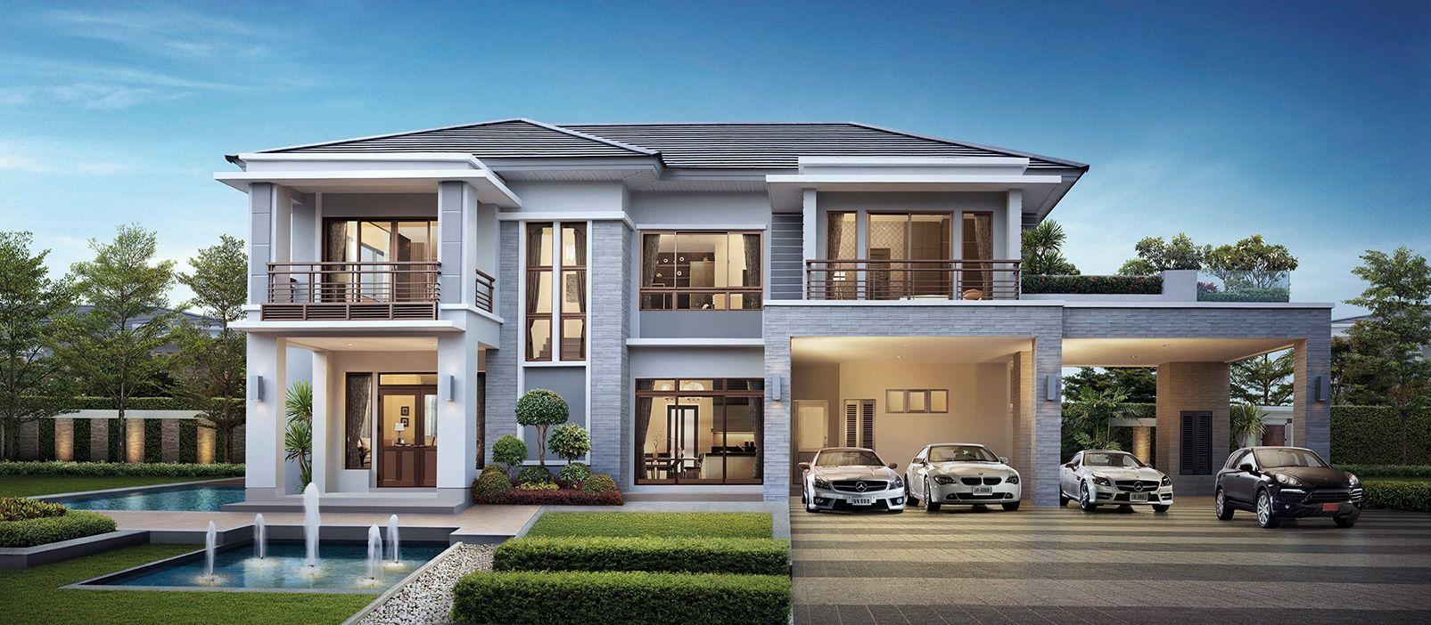 Luxury Bungalow House Design Beautiful House Plans Modern House Facades