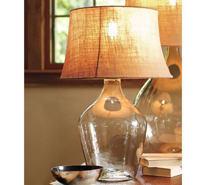 Clift Seeded Gl Table Lamp Pottery Barn