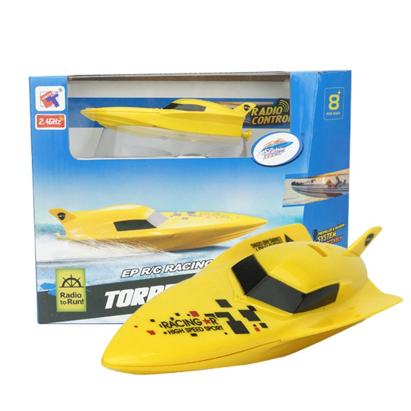 Compare Discount Mini RC Boat Speedboat 2.4G 4CH High Speed Out Boat ...