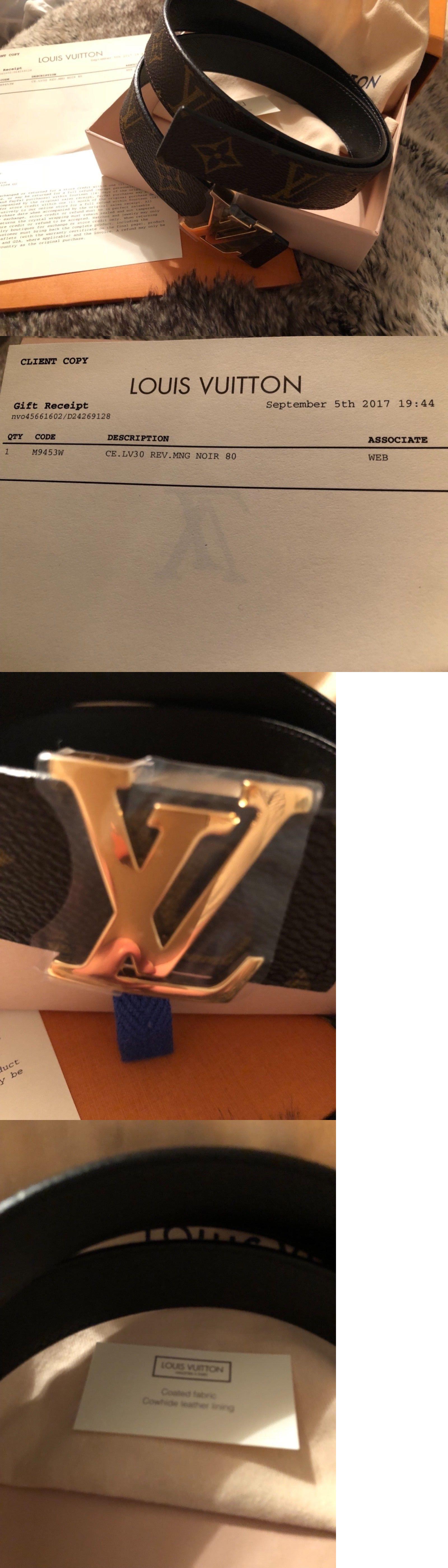 217d86e89291 Belts 2993  Louis Vuitton Lv Initiales 30Mm Reversible M9453w -  BUY IT NOW  ONLY   510 on eBay!
