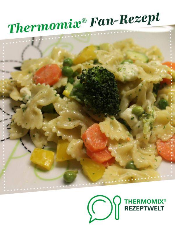 Photo of Colorful garlic vegetable pasta