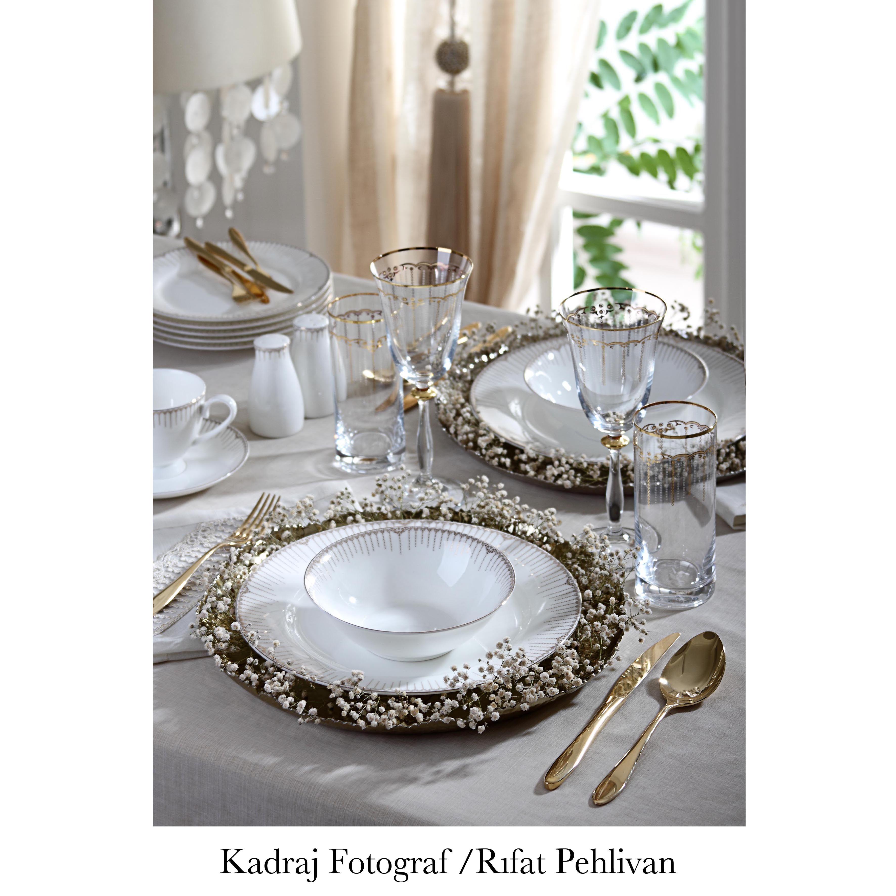 Pierre Cardin Linens Yemek ve Kahvaltı Takımları