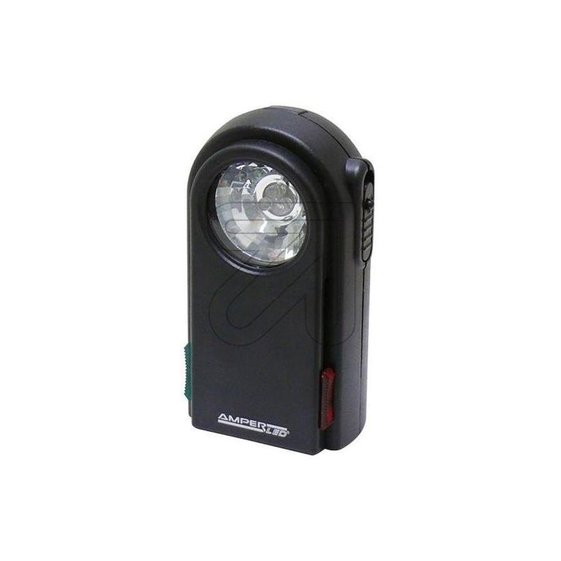 00117 Db Lampe De Poche Plate A Led Avec Disques De Couleur Rouge Ampercell Electronic Products Red