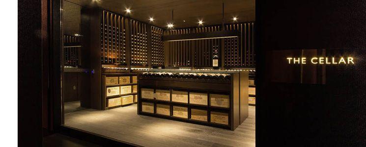 Holland Road Wine Cellar Singapore Scda Architects Wine Closet