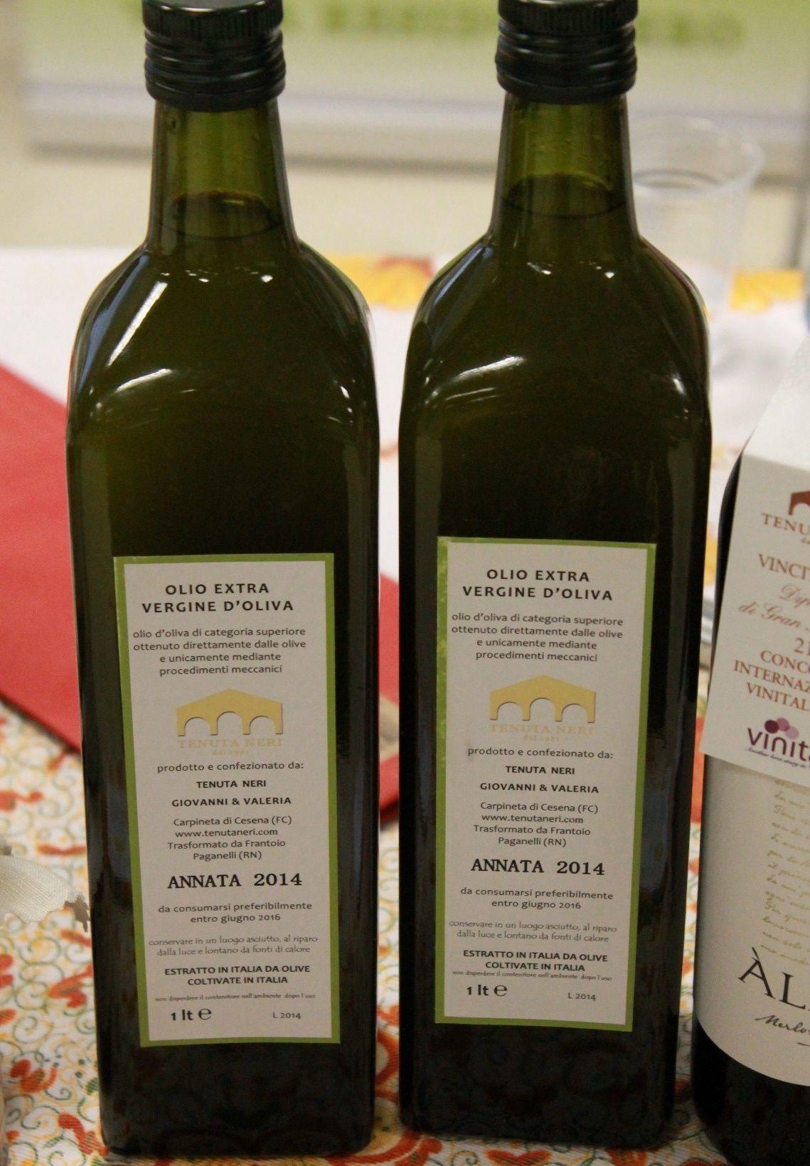Il nostro #Olio extravergine d'oliva - Antica Fiera della Canapa #Gambettola 22 Novembre 2014 #tenutaneri