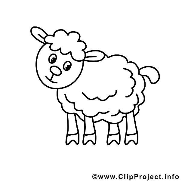 Schaf Bild zum Ausmalen, Malvorlage | Wennbuch | Pinterest