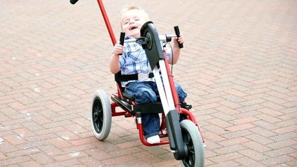 Donated Therapy Tricycles Changing Lives