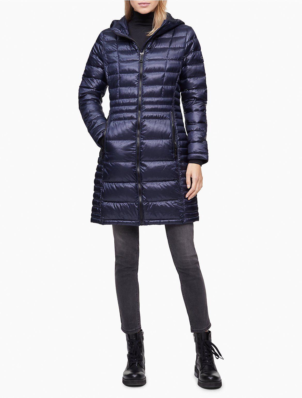 Packable Shiny Full Zip Down Jacket Calvin Klein In 2021 Jackets Down Jacket Packable [ 1541 x 1170 Pixel ]