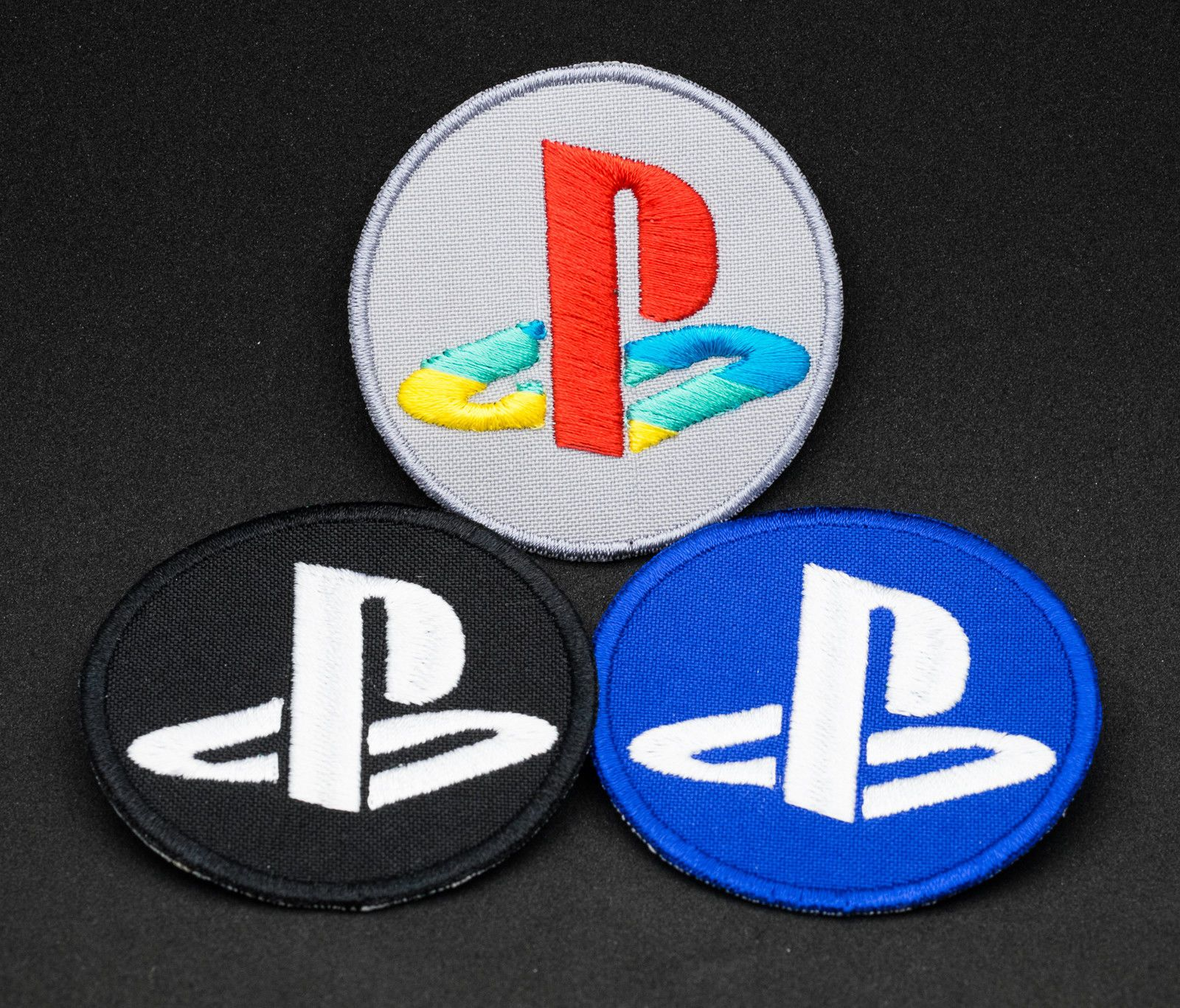 4 99 embroidered patch badge sony playstation iron on sew on ps4 ps one ebay