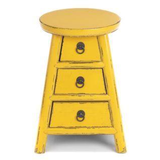 table de chevet 3 tiroirs cosmo tables de chevet tous les meubles dcoration - Table Chevet Alinea