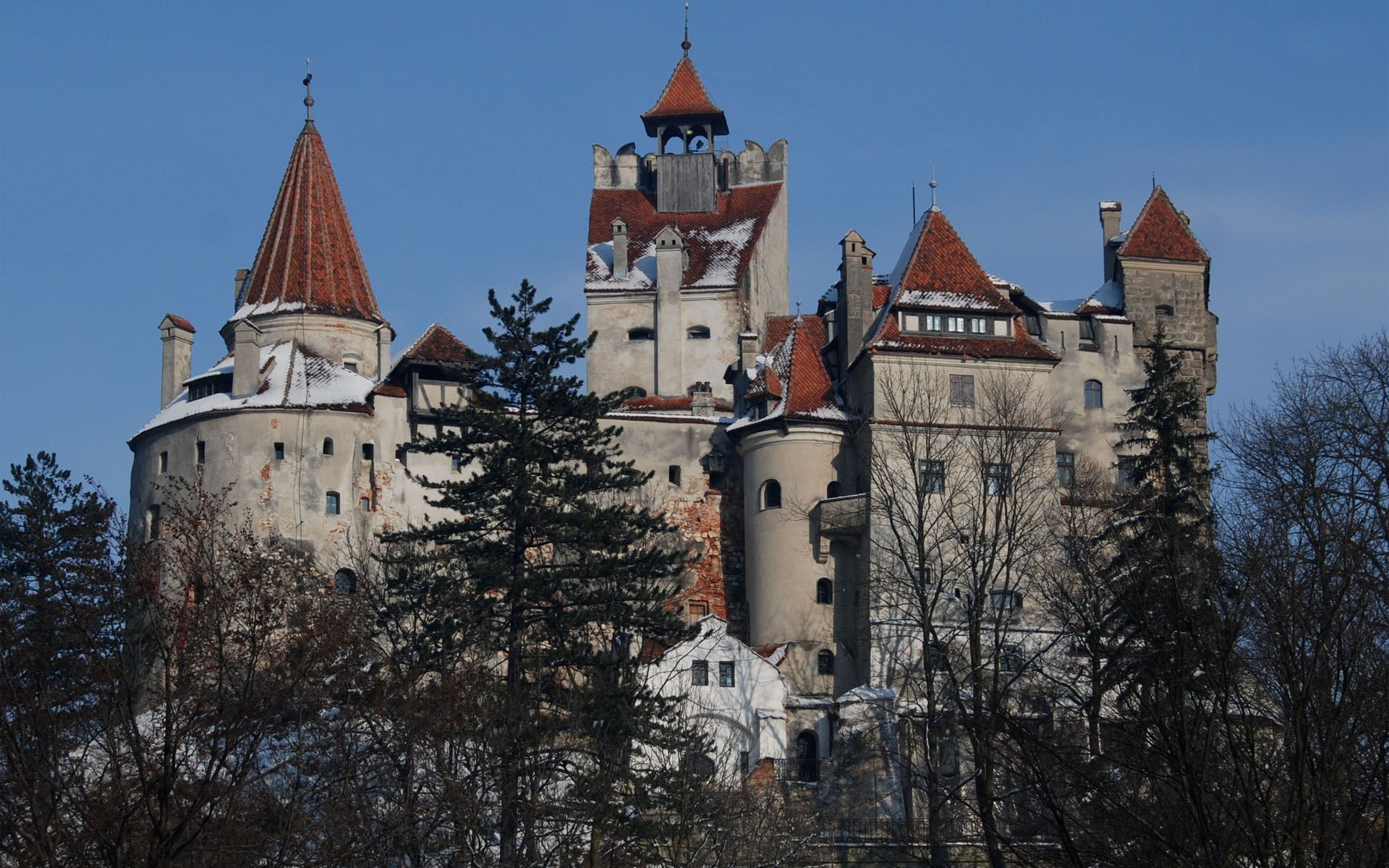 Bran Castle, Romania -Home of Vlad The Impaler (Count ...