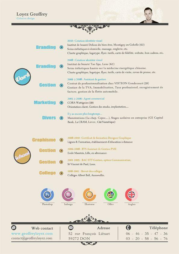 Nice Cv Design Graphic Design Resume Resume Design Creative Graphic Design Cv
