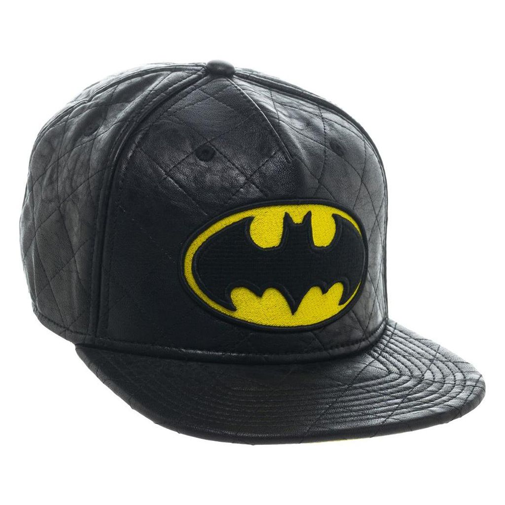 81cf15d3f1294 Buy this Batman Quilted 3D Embroidered Snapback from Bioworld. Go get it  now at www