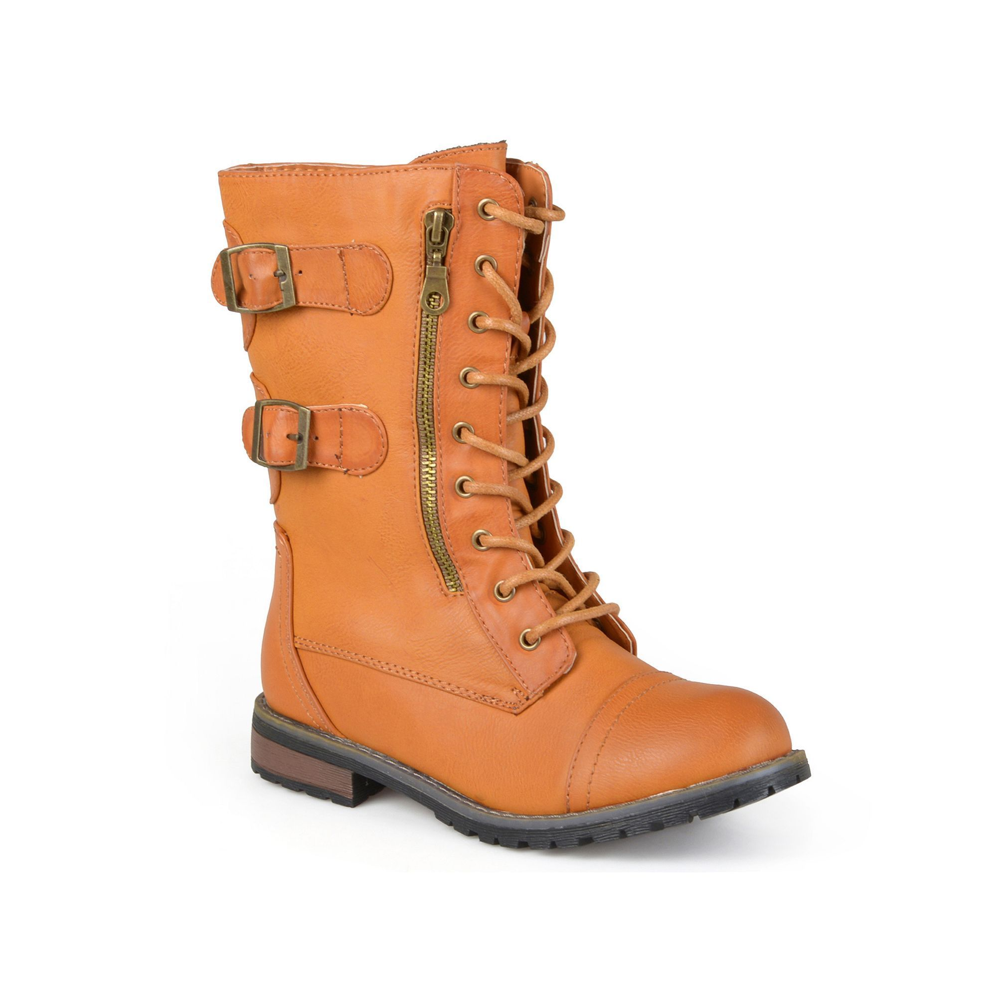 Journee Collection Cedes ... Women's Combat Boots kZO7JjWWy