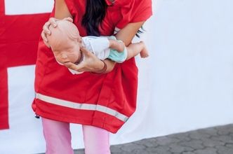 First Aid: How To Save A Choking Baby #firstaid