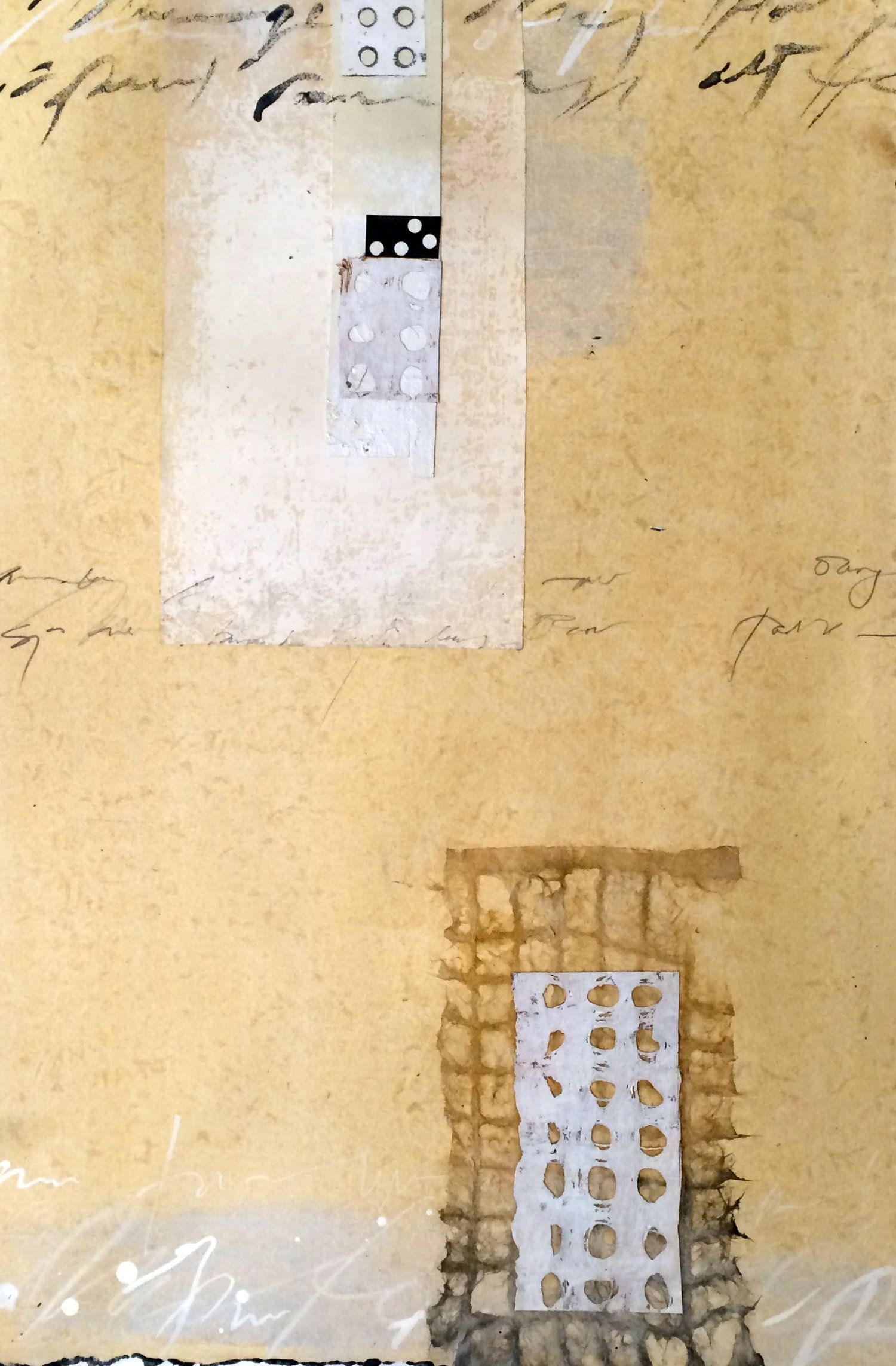 Abacus VI, Susanne Carmack | Abstract Mixed Media & Collage ...