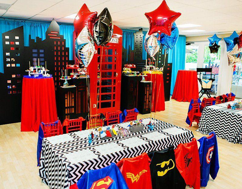 Birthday Party Ideas Parties All Superheroes Superhero