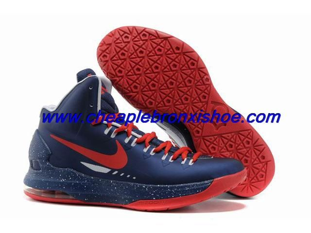 39d6c5391041d Buy Nike Zoom KD V 5 Royal Blue Red Basketball Shoes For Wholesale ...
