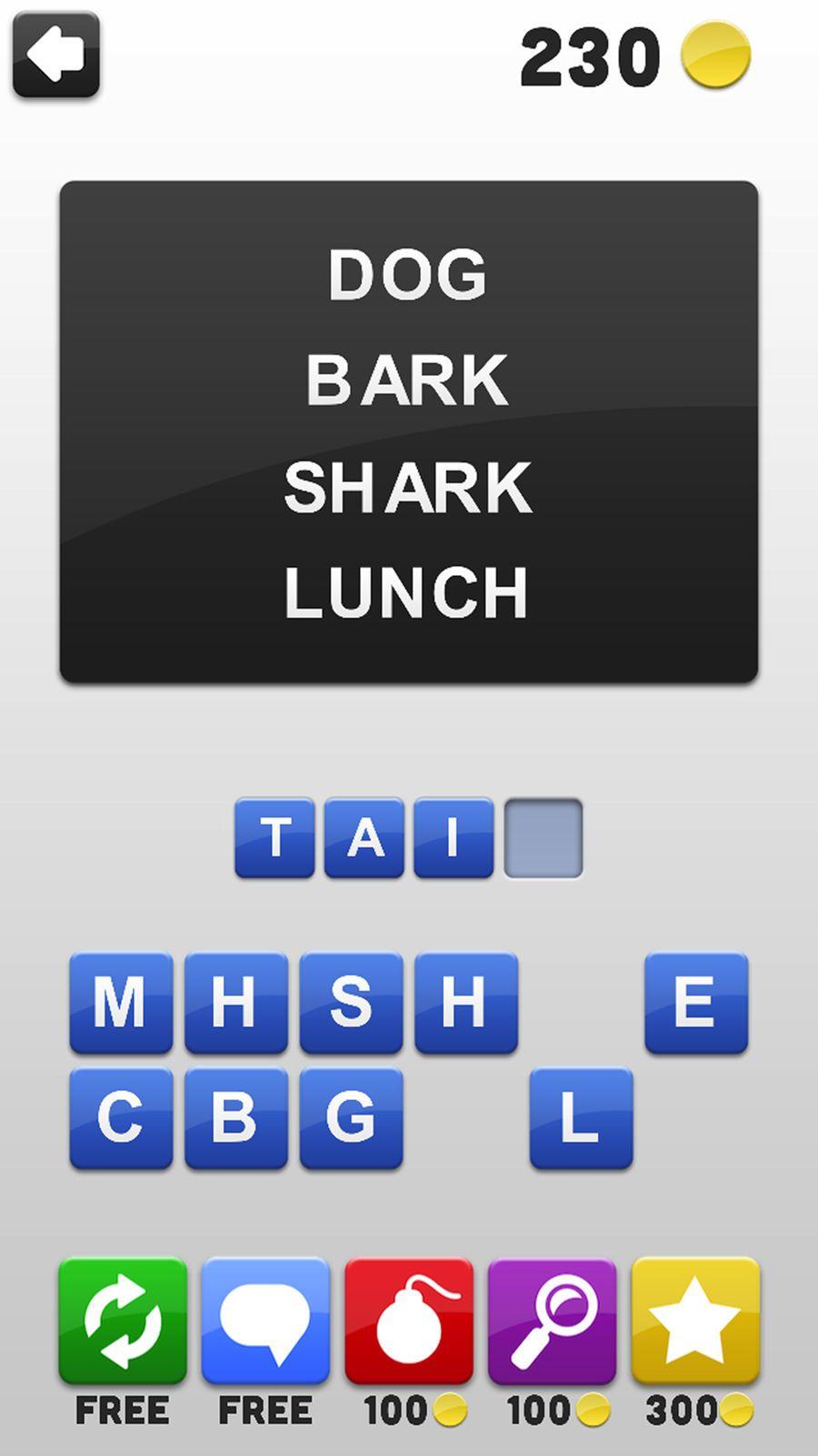 4 Words Free Word Association Game LLCMochiBitsGames