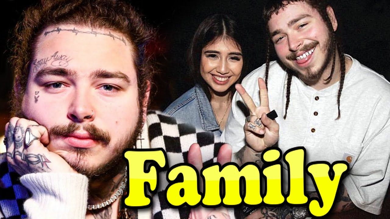 Post Malone Family With Parents and Girlfriend Ashlen Diaz