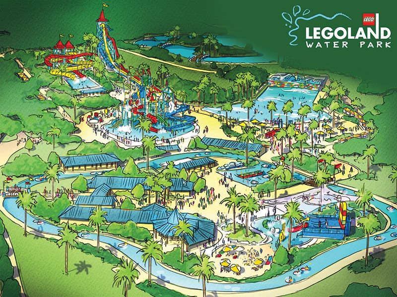 Overview Of The Legoland Water Park Opening May 26 At Legoland