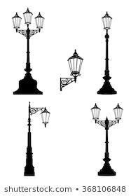 Sketch Street Light Vector Drawing Stock Vector Royalty Free 240623239 Street Lamp Street Light Lamp Sets