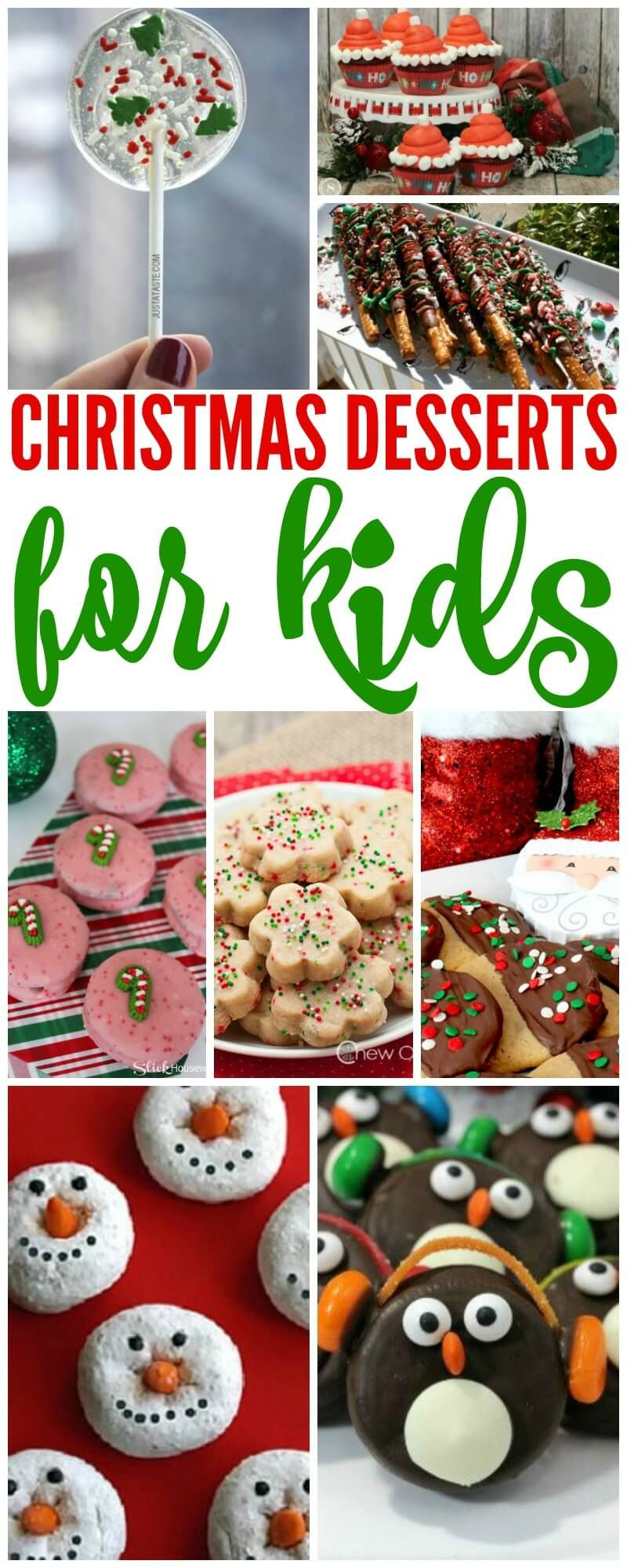 Here Are 20 Most Creative Christmas Dessert Ideas For Kids If You Re Looking For Some Si Christmas Desserts Kids Creative Christmas Dessert Christmas Desserts