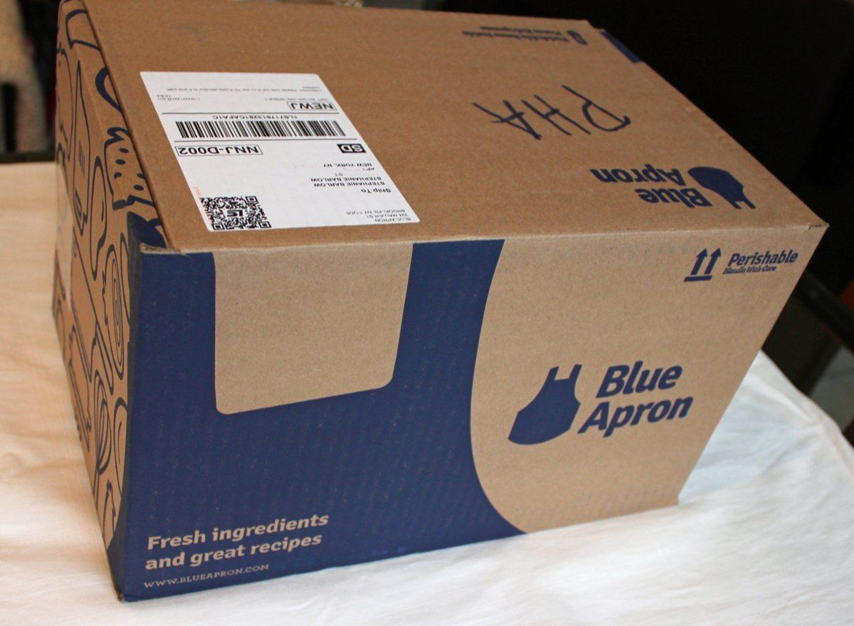 I Tried Blue Apron's Meal Delivery Service and Here's How