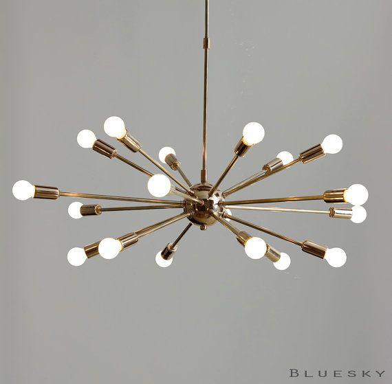 Atomare 18 Leuchten Sputnik Starburst Leuchte armig von - led deckenleuchte küche