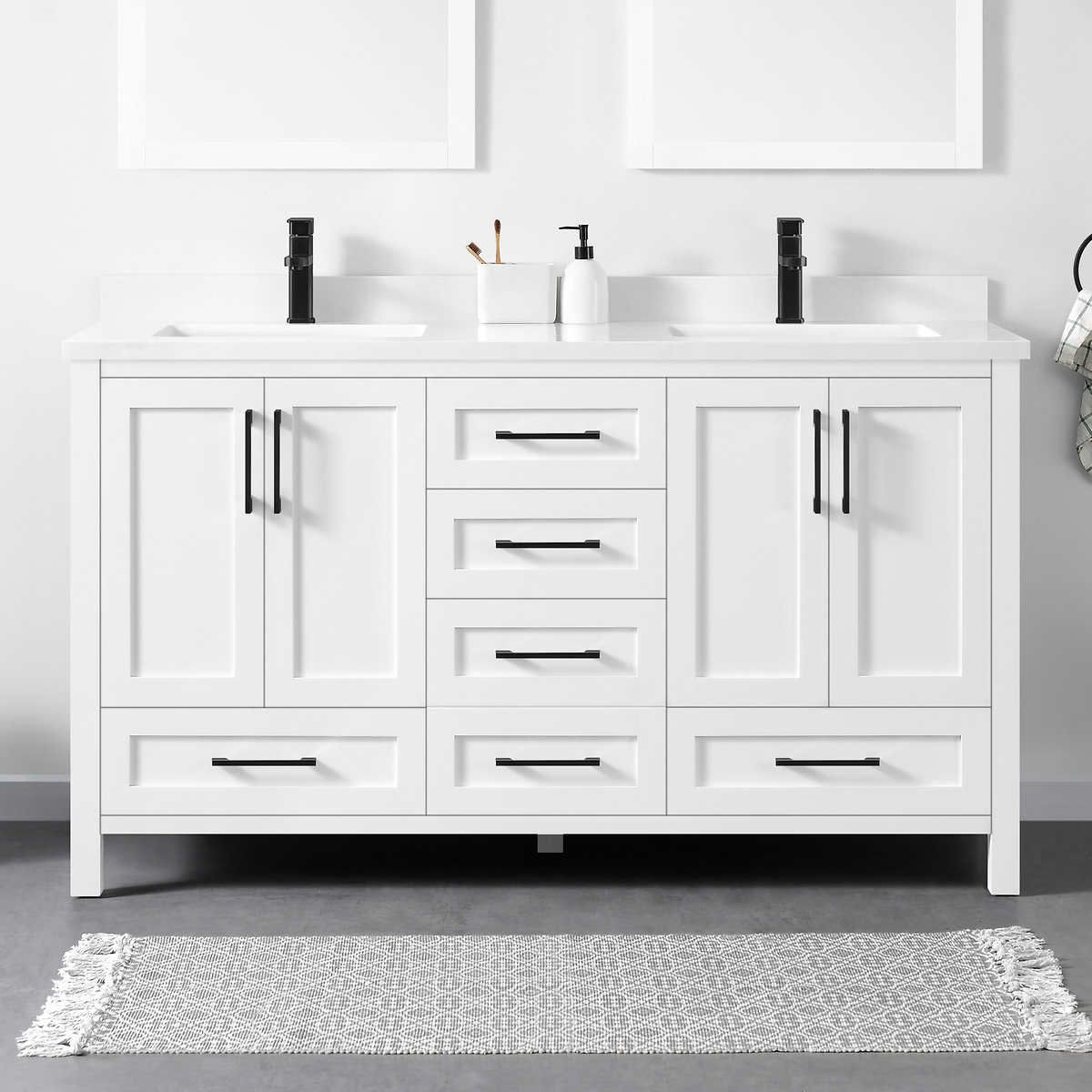 Lourdes 60 Bath Vanity By Ove In 2020 With Images Bath