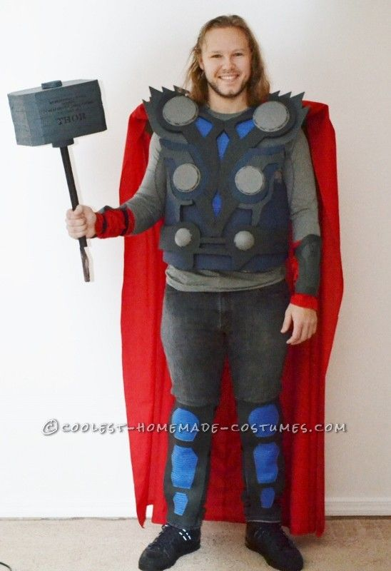 How To Make A Cool Halloween Costume Thor The God Of