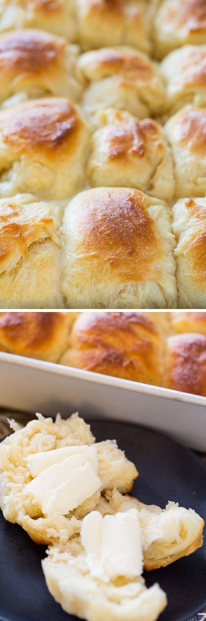 The Best Easy Yeast Rolls | Recipe | Easy yeast rolls ...