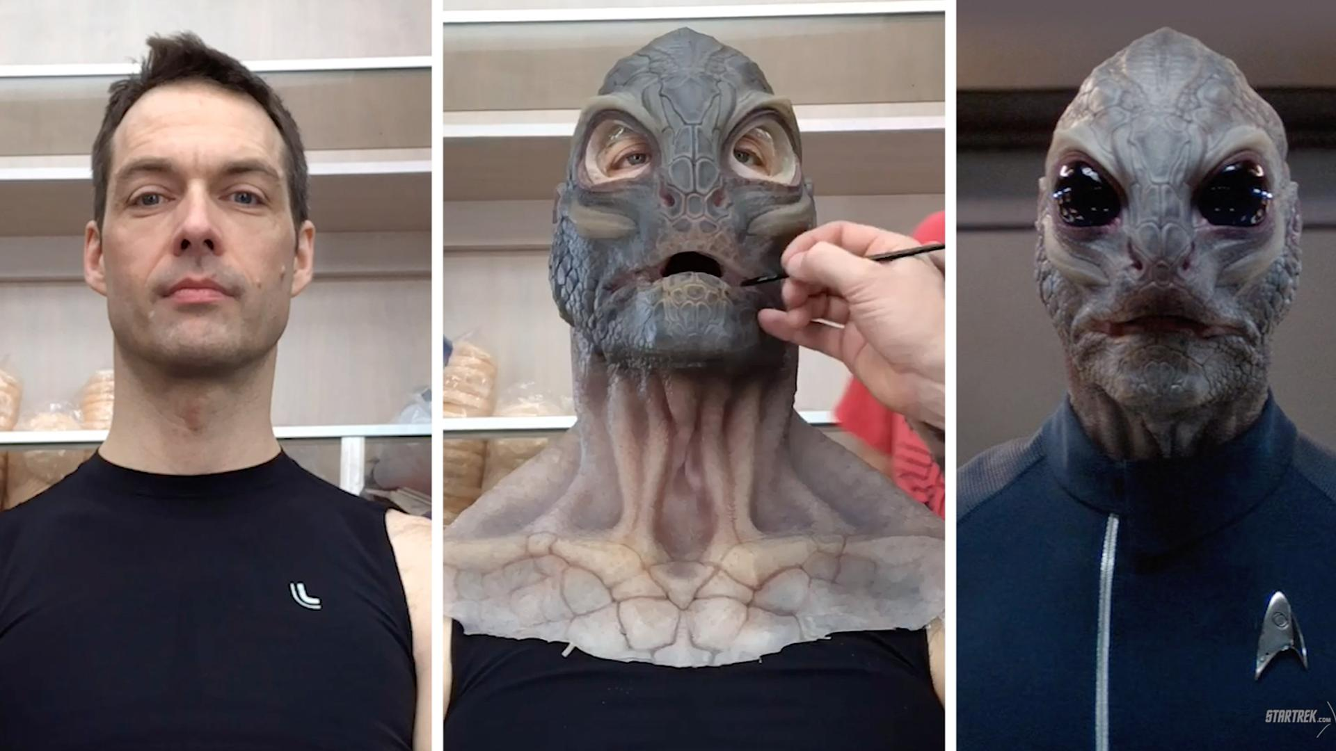 Trekformations: Linus the Saurian | Star Trek