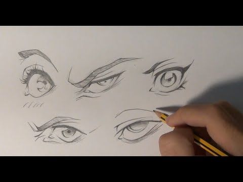Dibujar ojos manga - Draw manga eye Pin now, watch later