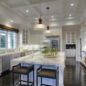 27 Amazing Coffered Ceiling Ideas For Any Room | Beautiful kitchen on coffered ceiling paint ideas, ceiling beams ideas, ceiling design ideas, tray ceiling decorating ideas, ceiling trim ideas, ceiling finishes ideas,