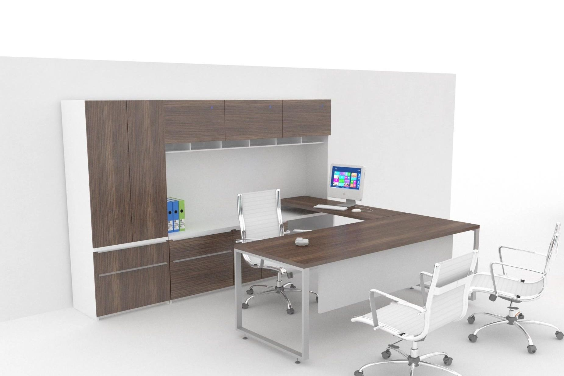 Escritorios de oficina - Línea Skand - Muebles para oficina ...